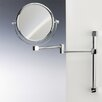 Windisch by Nameeks Double Face Wall Mounted 5X Magnifying Mirror with Two Arm and Two Brazo