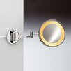 Windisch by Nameeks Incandescent Light 5X Magnifying Mirror with Two Arms