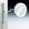 Windisch by Nameeks Fluorescent Light Adjustable and Extendable 5X Magnifying Mirror