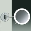 Windisch by Nameeks Wall Mounted 3X Magnifying LED Mirror with Direct Wired One Arm and Sensor