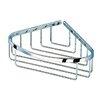 Geesa by Nameeks Basket Corner Shower Basket in Chrome