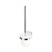 Geesa by Nameeks BloQ Wall MountedToilet Brush and Holder