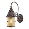 Landmark Lighting Rustica 1 Light Outdoor Wall Lantern