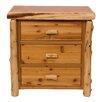 Fireside Lodge Value Cedar 3 Drawer Chest