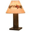 "Fireside Lodge Frontier 30"" H Table Lamp with Empire Shape"