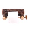 Fireside Lodge Hickory Wall Mounted Toilet Paper Holder