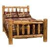 Fireside Lodge Traditional Cedar Log Platform Bed
