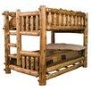 Fireside Lodge Traditional Cedar Log Bunk Bed