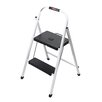 Rubbermaid 2-Step Steel Folding Lightweight Step Stool with 200 lb. Load Capacity