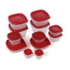 Rubbermaid 24-Piece Food Storage Container Set