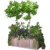Diamond Teak Rectangular Planter Box