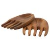 T&G Woodware Ltd Tuscany Salad Hands in Acacia Wood