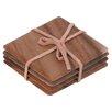 T&G Woodware Ltd 4-tlg. Quadratischer Untersetzer Tuscany