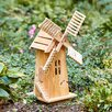 Lawn Windmill - Color: Natural - Shine Company Inc. Garden Statues and Outdoor Accents