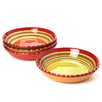 Certified International Hot Tamale Soup and Pasta Bowl (Set of 4)