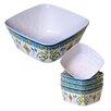 Certified International Tuscany 5 Deep bowl and Individual bowls
