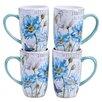 Certified International Tuileries Garden 14 oz. Mug (Set of 4)