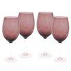 Certified International Glass Stemware Amethyst White Wine Glasses (Set of 4)