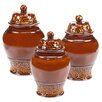 Certified International Solstice 3-Piece Canister Set