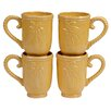 Certified International Bianca 18 oz. Mug (Set of 4)