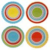 """Certified International Mariachi 6"""" Canape Plate (Set of 4)"""