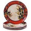 "Certified International Umbria 10.75"" Dinner Plate (Set of 4)"