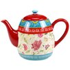 Certified International Anabelle 1.25 qt. Ceramic Teapot