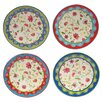 """Certified International Anabelle 6"""" Canape Plate (Set of 4)"""
