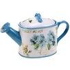 Certified International Greenhouse 1.25-qt. 3-D Watering Can Teapot