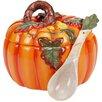 Certified International Botanical Harvest 3-D Pumpkin 3 qt. Soup Tureen