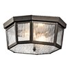 Kichler Rochdale 2 Light Flush Mount