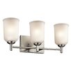 Kichler Shailene 3 Light Wall Mount Bathroom Light