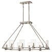 Kichler 8 Light Candle Chandelier