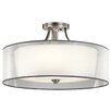 Kichler Lacey 5 Light Semi Flush Mount