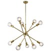 Kichler Armstrong 10 Light Chandelier