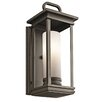 Kichler South Hope 1 Light Outdoor Flush Mount