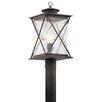 Kichler Argyle 1 Light Outdoor Post Light