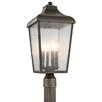 Kichler Forestdale 1 Light Outdoor Post Light
