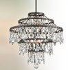 Troy Lighting Meritage 6 Light Crystal Pendant