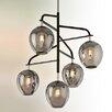 Troy Lighting Odyssey 5 Light Cascade Pendant