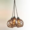 Troy Lighting Outer Banks 3 Light Cluster Pendant