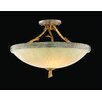 Corbett Lighting Parc Royale 3 Light Semi Flush Mount