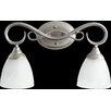 Quorum Powell 2 Light Vanity Light