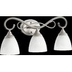 Quorum Powell 3 Light Vanity Light