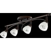 Quorum Brooks 4 Light Semi Flush Mount