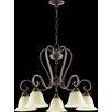 Quorum Celesta 5 Light Chandelier