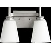 Quorum Friedman 2 Light Vanity Light