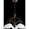 Quorum Brooks 5 Light Chandelier