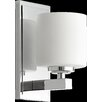 Quorum 1 Light Cylinder Wall Sconce