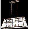 Quorum Kaufmann 6 Light Kitchen Island Pendant